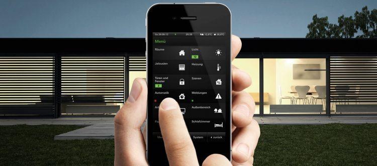 Haussteuerung per Smartphone-App in Bielefeld